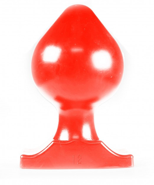 All Red ABR76 Butt Plug
