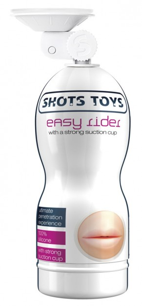 Easy Rider Strong Suction Cup Mouth Masturbator