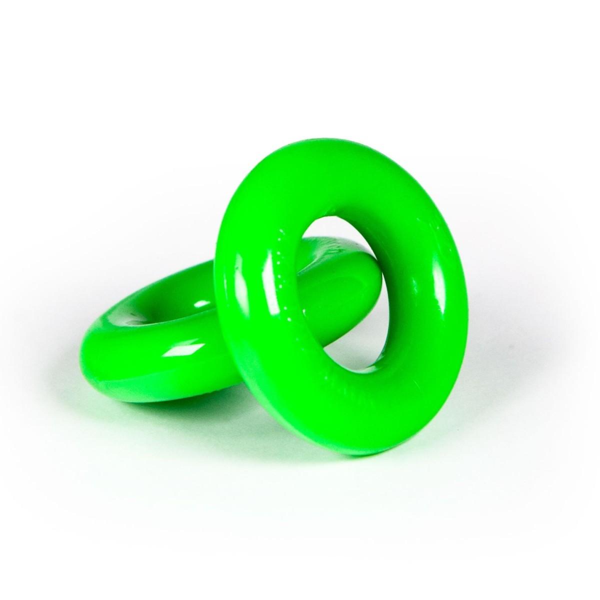 Zizi Top Cock Rings 2 pcs Fluo Green