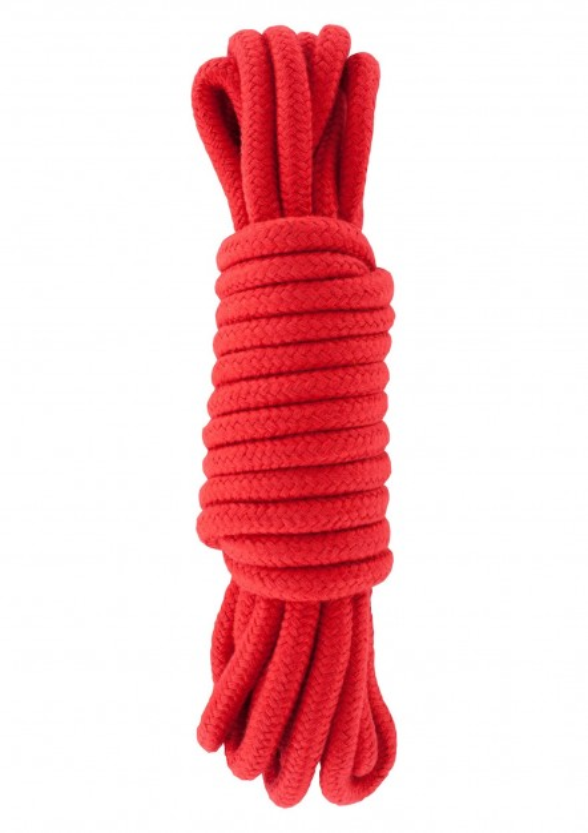 Hidden Desire Bondage Rope 5 m Red