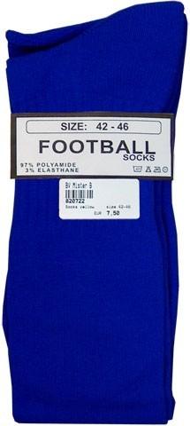 Mister B Football Socks Blue