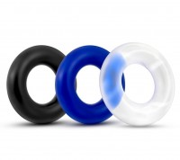 Lovetoy Power Plus Triple Donut Ring Set