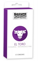 Secura El Toro Condoms 12 Pack