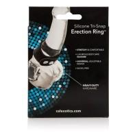 CalExotics Silicone Tri-Snap Erection Ring