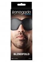 Renegade Bondage Blindfold Black