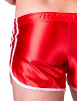 Barcode Berlin Shiny Short Dean Red-White