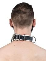 Mister B Slave Collar 4 D-Rings Yellow
