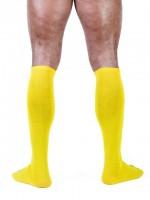 Mister B Football Socks Yellow