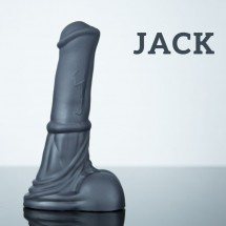 Weredog Jack Horse Dildo Jet Medium