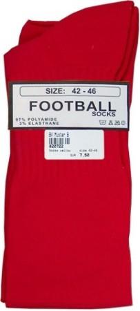 Mister B Football Socks Red