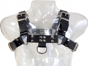 Mister B Chest Harness Saddle Leather