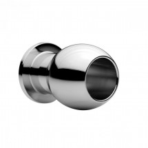 Master Series Large Abyss Metal Tunnel Butt Plug