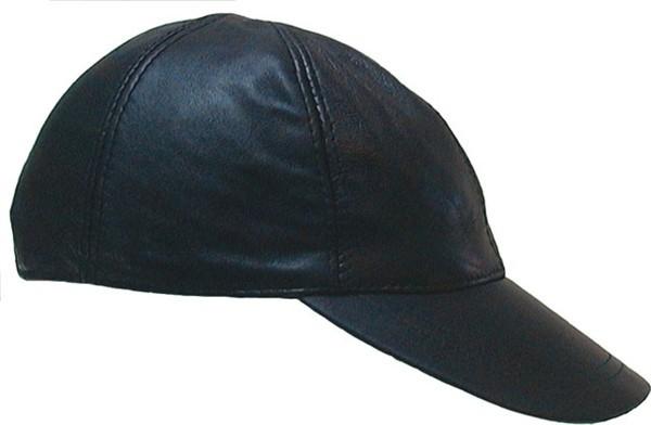 Mister B Leather Baseball Cap